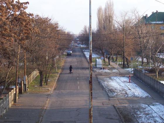 MÁV-telep, Szent Korona utca
