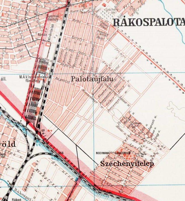 Térképrészlet 1908
