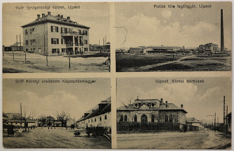 Káposztásmegyer és Újpest képeslapon