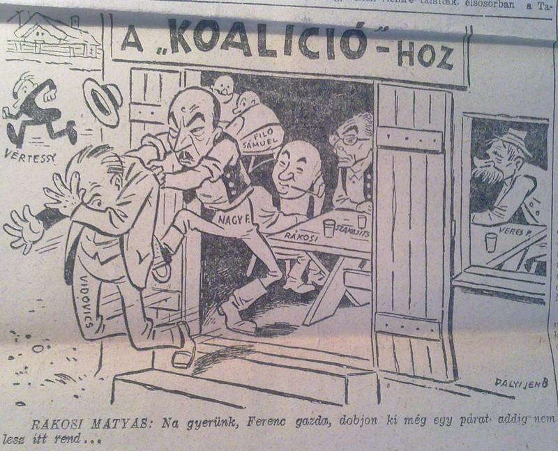 1946 12 24 Karikatúra 001 Szabad Föld