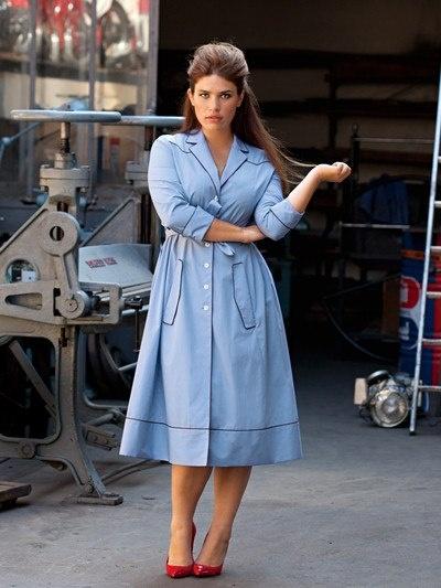 Модели. Burda Мода для полных 1/2013 422. Платья, туники, комбинезоны