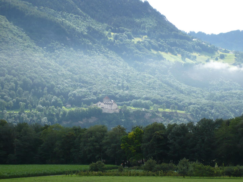 Vaduz,hercegi palota