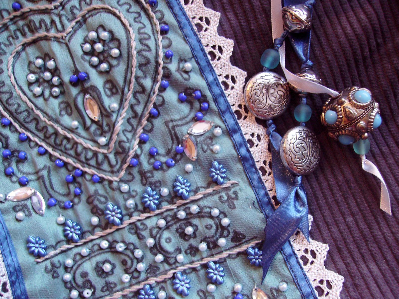 01 Kék-szürke kord táska