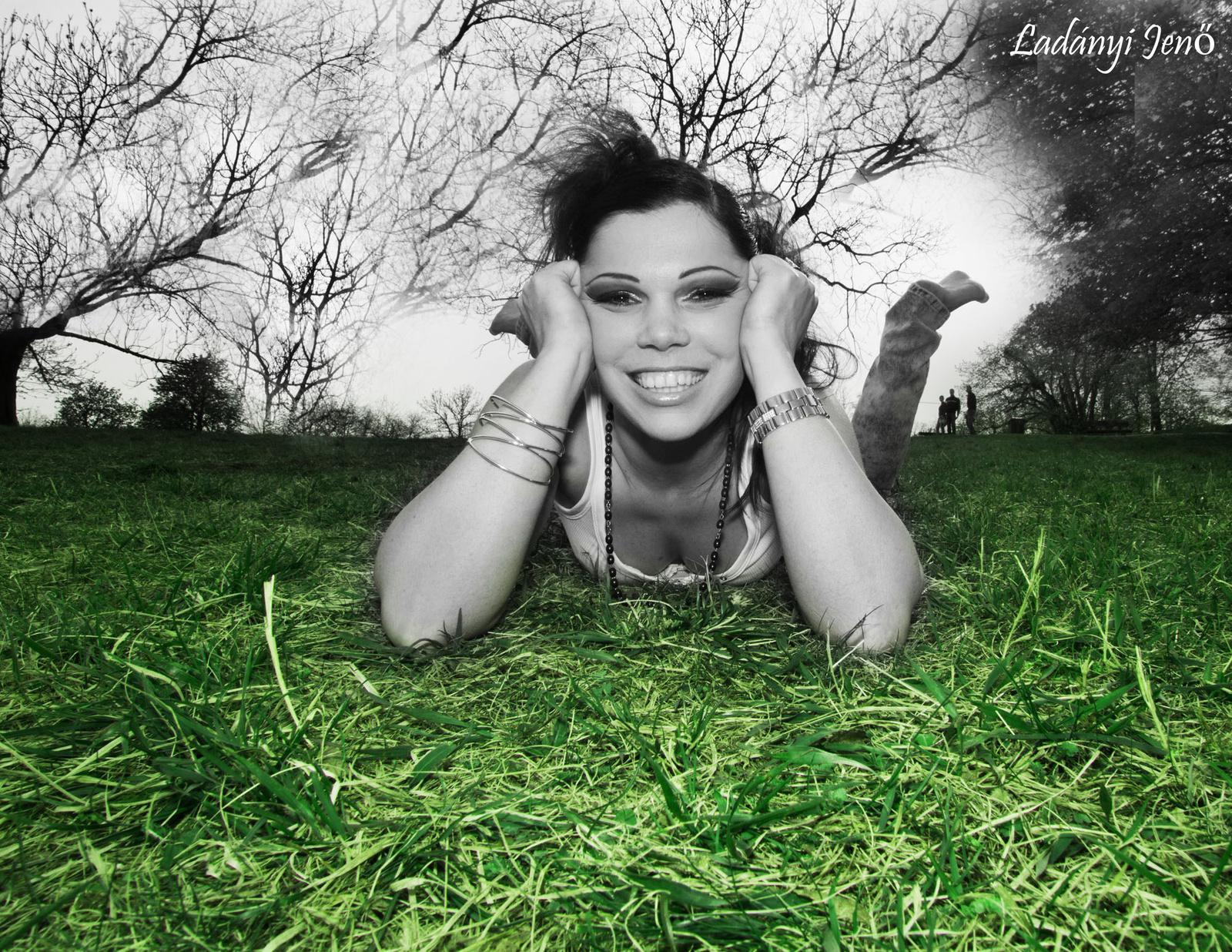 A fűben