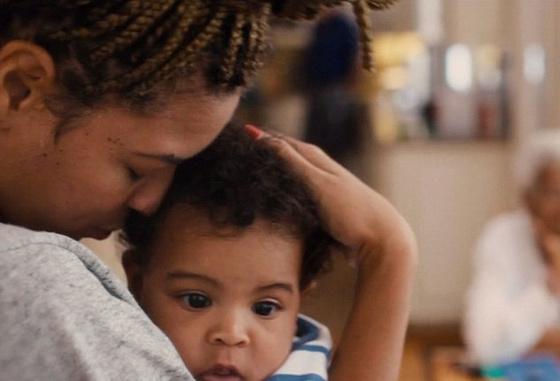 The Strange: Beyonce Knowles, Blue Ivy Carter