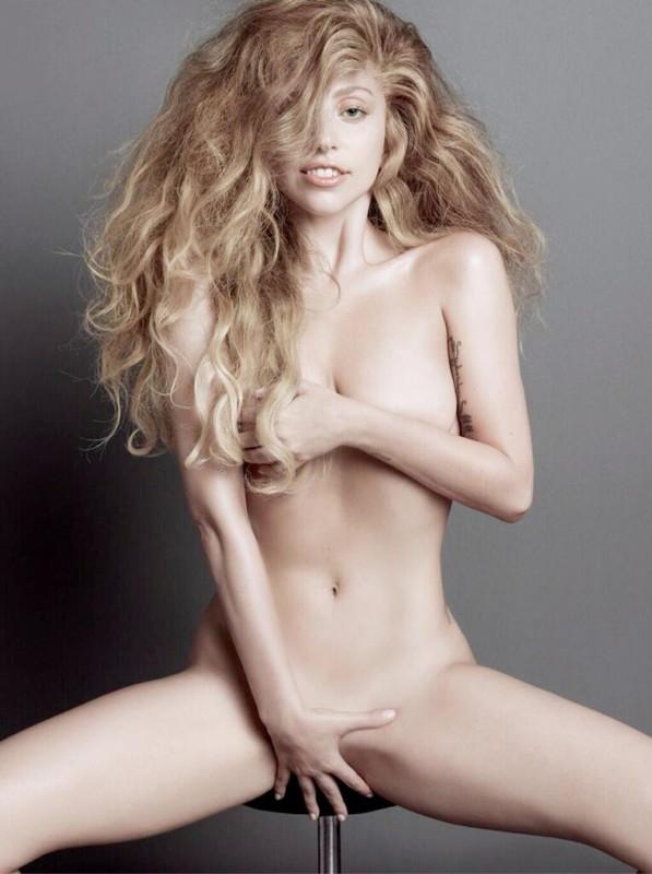 The Strange: lady-gaga-nude-naked-v-magazine-artpop-2013-full-size