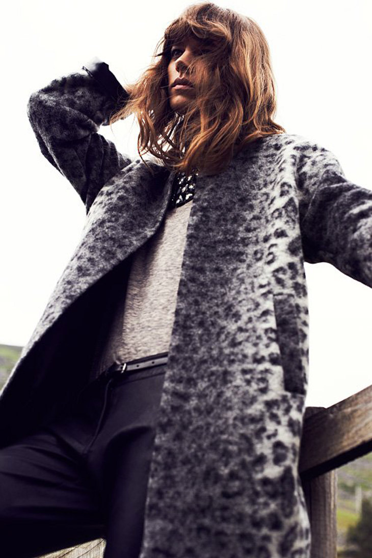The Strange: Freja-Beha-Erichsen-Reserved-Fall-Winter-2013-15 - indafoto.hu