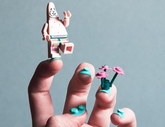 The Strange: lego-nail-art-3 - indafoto.hu