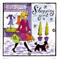 Alice from Wonderland: AB10880~Shopping-Girl-Posters