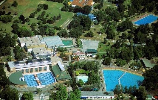ametiszthotel: Harkány Gyógyfürdő légi