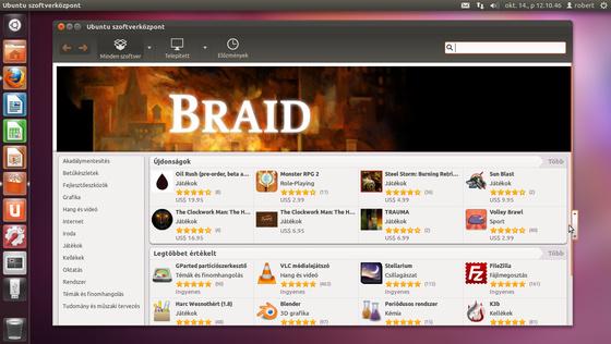 robinn25: Ubuntu szoftverközpont.png