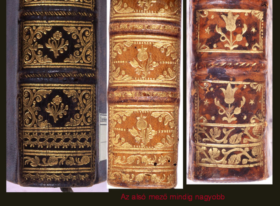 Országos Széchényi Könyvtár: A gerincmezők közül az alsó min...