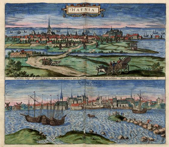 Országos Széchényi Könyvtár: Koppenhága (Hafnia) a XVI–XVII. század fordulóján
