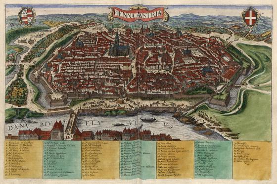Országos Széchényi Könyvtár: Bécs (Vienna) a XVI–XVII. század fordulóján