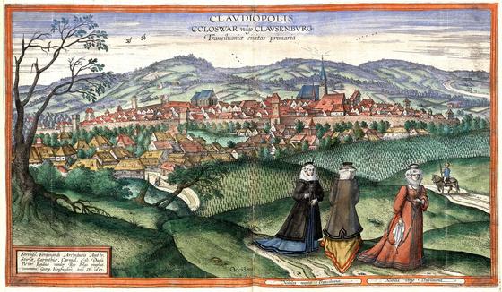 Országos Széchényi Könyvtár: Kolozsvár (Claudiopolis) a XVI–XVII. század fordulóján