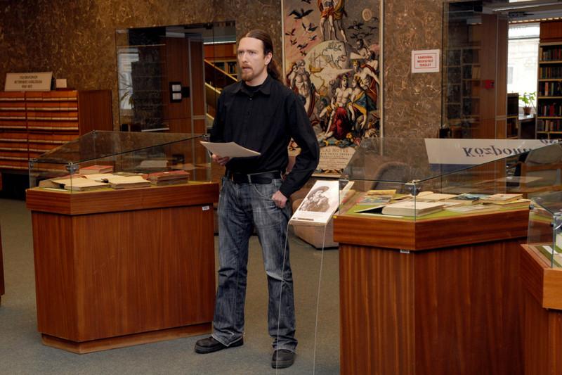 Karl May kiállítás megnyitója