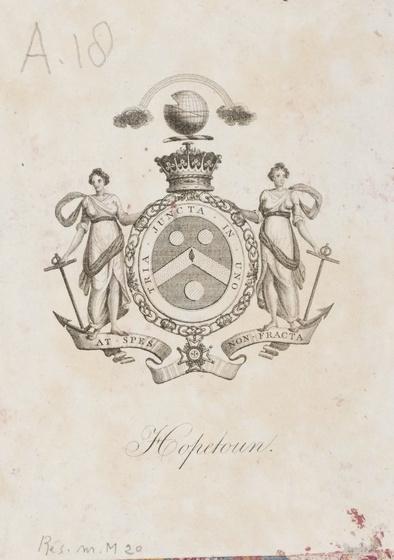 Országos Széchényi Könyvtár: Hopetoun exlibris