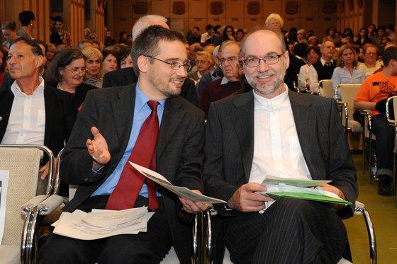 Országos Széchényi Könyvtár: Dr. Mikusi Balázs és dr. Ulrich Leisinger - indafoto.hu