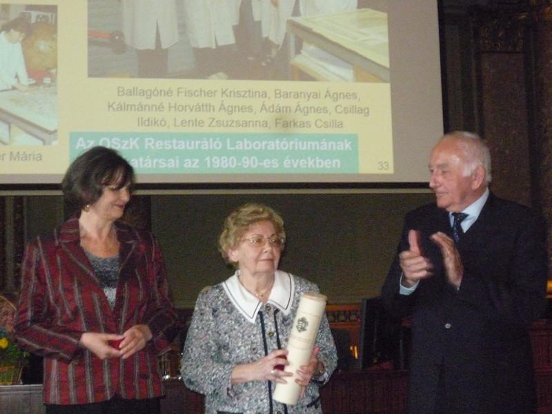 Érdi Marianne, Kozocsa Ildikó és Poprády Géza