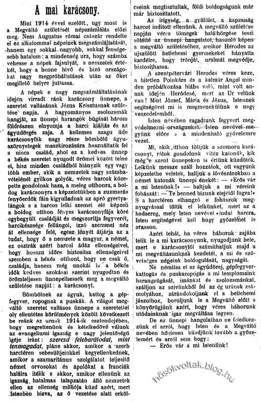 szolarchiv: 1914-12-25--01 karácsonyi cikk