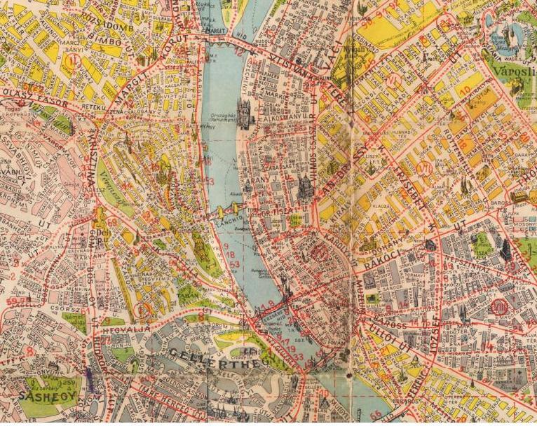 fovarosi.blog.hu: BudapestTerkep-1942-Reszlet