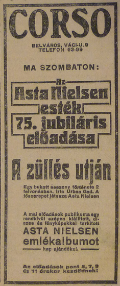 fovarosi.blog.hu: CorsoMozi-1913Aprilis-AzEstHirdetes
