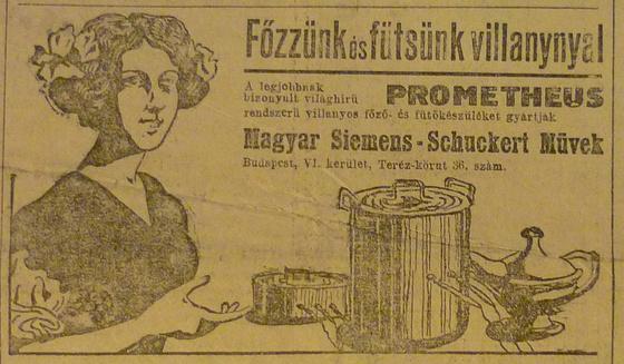 fovarosi.blog.hu: TerezKorut36-Siemens-1913December-AzEstHirdetes