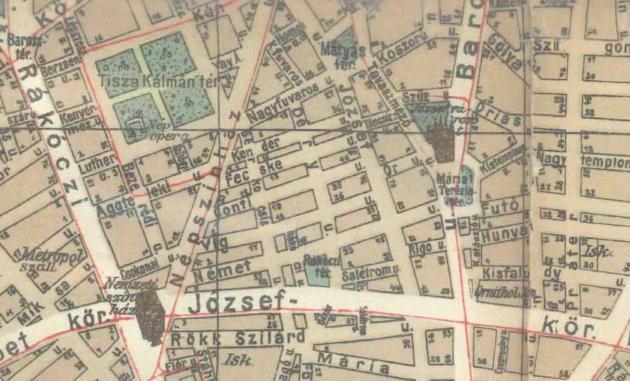 fovarosi.blog.hu: DeryUtca-1915-Terkep