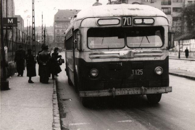 fovarosi.blog.hu: Trolibusz-1952-ElsoJarat