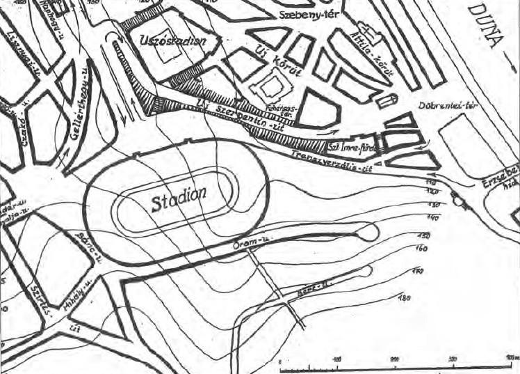 fovarosi.blog.hu: NemzetiStadion-1933-WittenbarthGyozoTerve