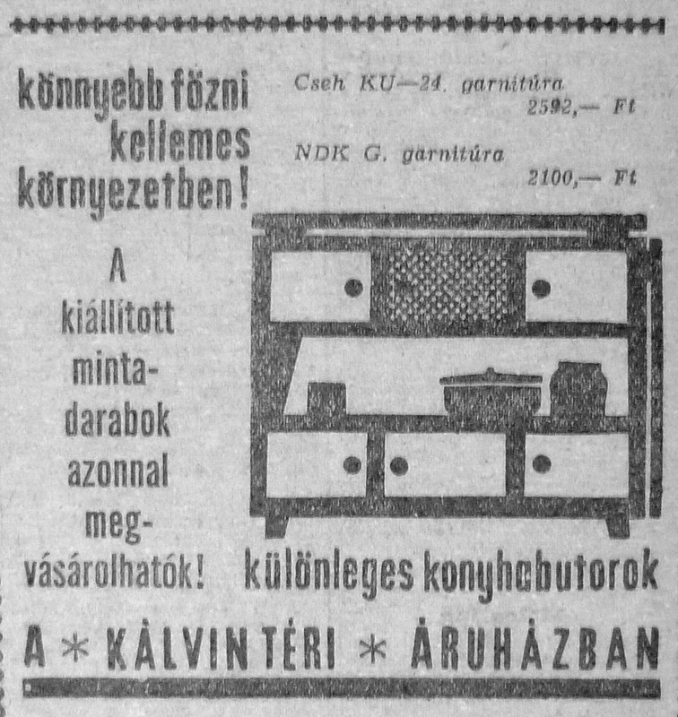 �tven �ve �rt�k - 1964 m�jus - Fov�rosi blog