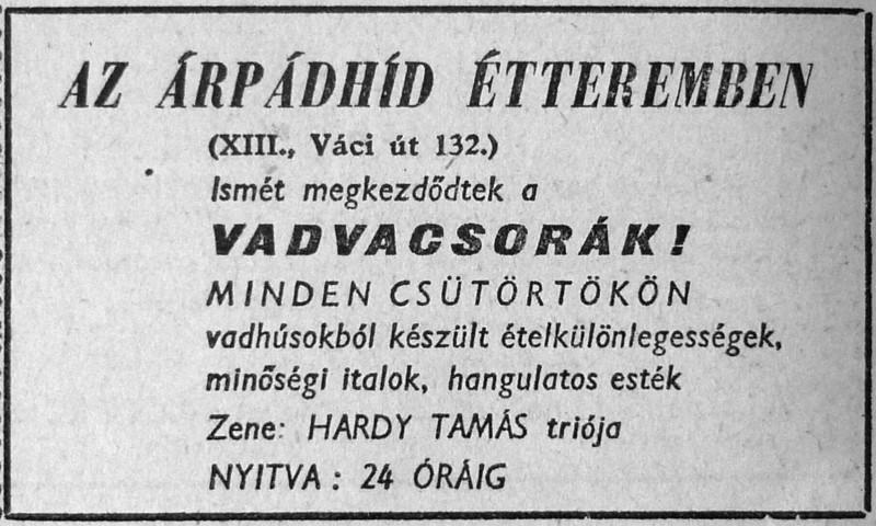 fovarosi.blog.hu: ArpadHidEtterem-196412-MagyarNemzetHirdetes - indafoto.hu