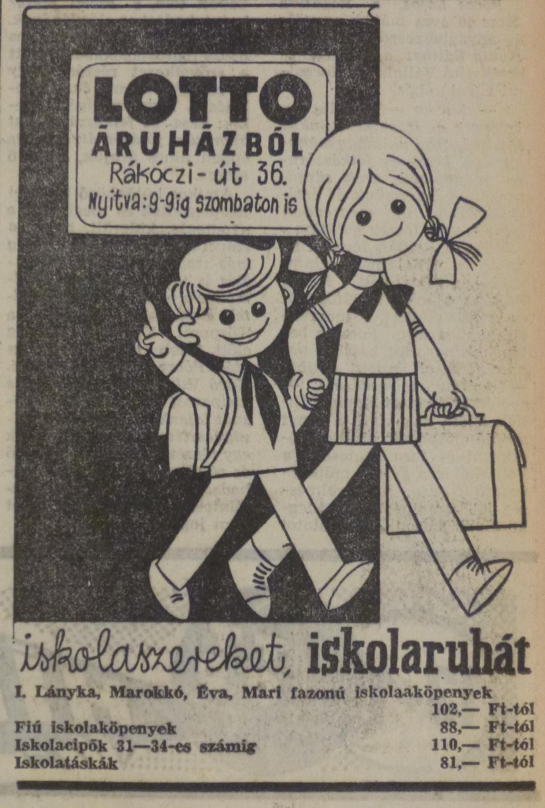 fovarosi.blog.hu: LottoAruhaz-196508-EstiHirlapHirdetes - indafoto.hu