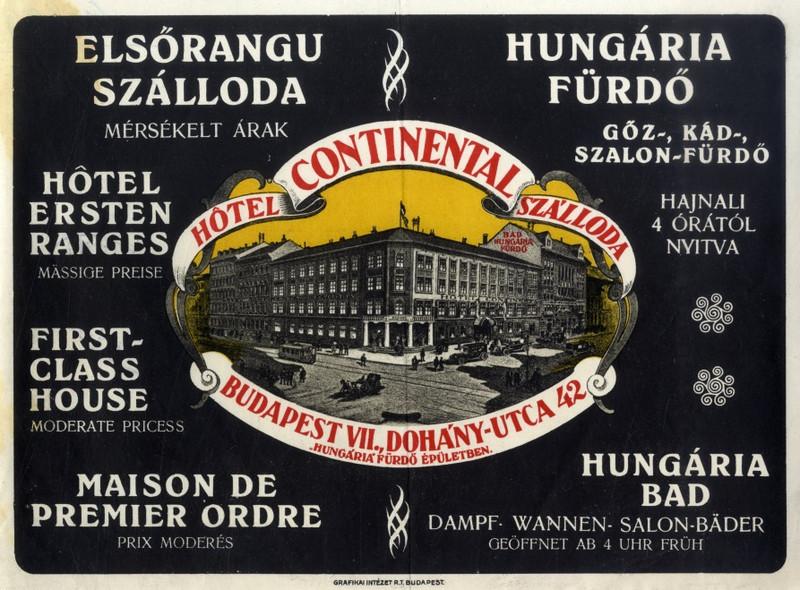 fovarosi.blog.hu: HungariaFurdo-1925-Hirdetes - indafoto.hu