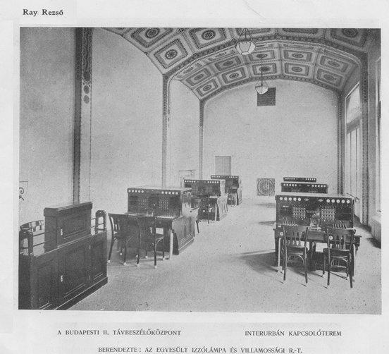 fovarosi.blog.hu: JozsefTelefonkozpont-1917-MagyEpMuv-04 - indafoto.hu