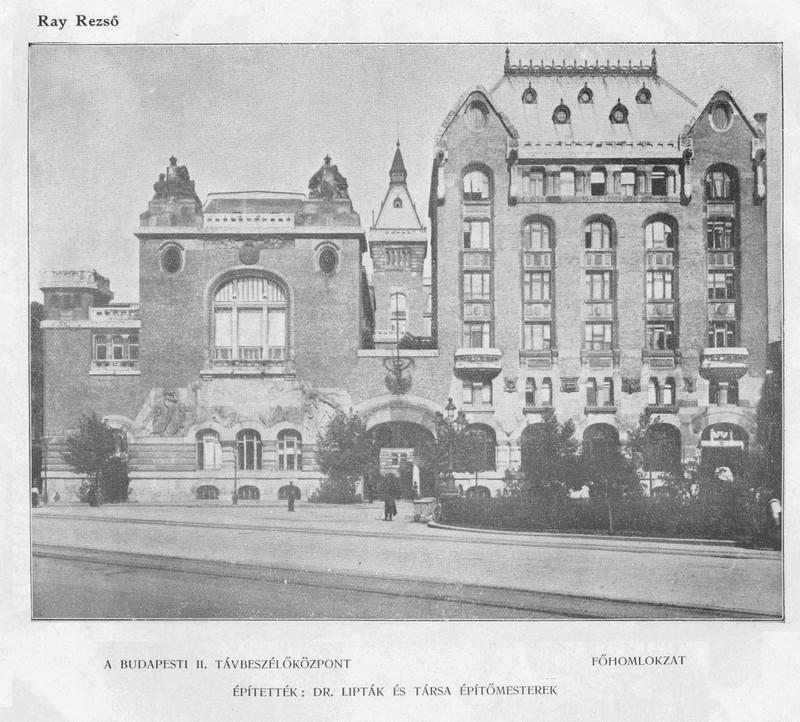 fovarosi.blog.hu: JozsefTelefonkozpont-1917-MagyEpMuv-14 - indafoto.hu