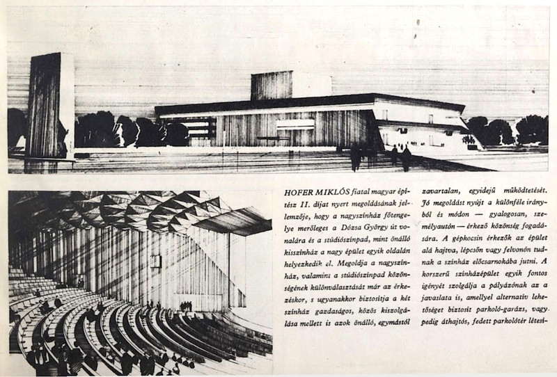 fovarosi.blog.hu: NemzetiSzinhaz-1966-HoferMiklosTerve-BudapestUjsag1966Jan - indafoto.hu