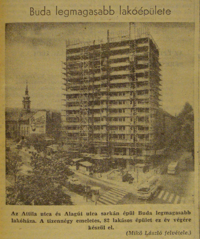fovarosi.blog.hu: AlagutUtcaiToronyhaz-19670708-Nepszabadsag - indafoto.hu