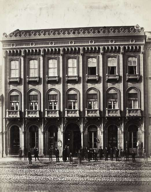 Az Unger-ház 1900 körül. (fortepan.hu, 82071)