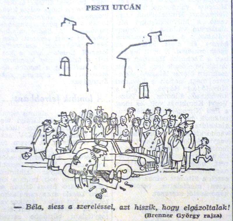 fovarosi.blog.hu: AutosKozlekedes-196811-MagyarNemzetKarikatura - indafoto.hu