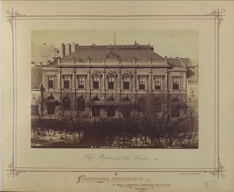 fovarosi.blog.hu: OlaszIntezet-1880asEvek-KloszGy-fortepan.hu-82060 - indafoto.hu