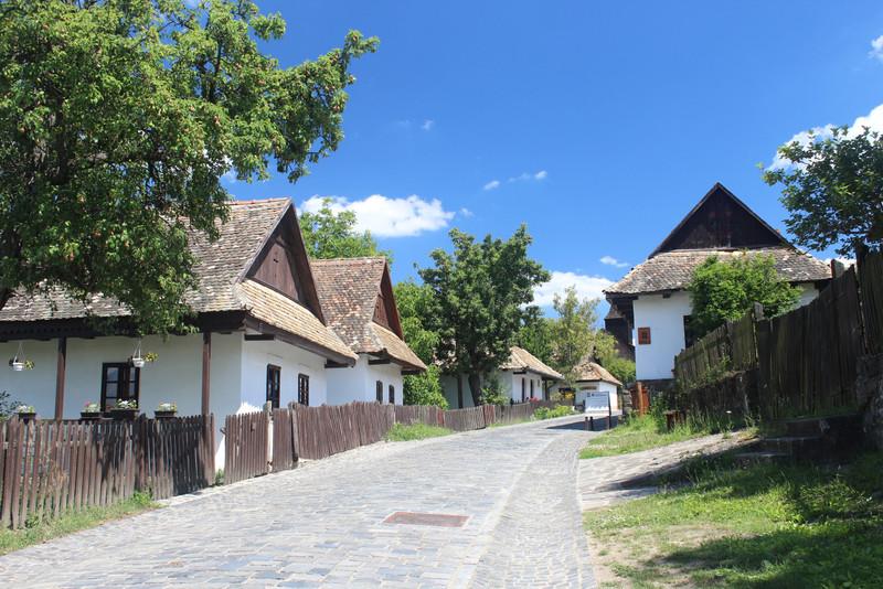 Hollókő, Ófalu, 2018. Fotó: Papp Géza, kektura.blog.hu