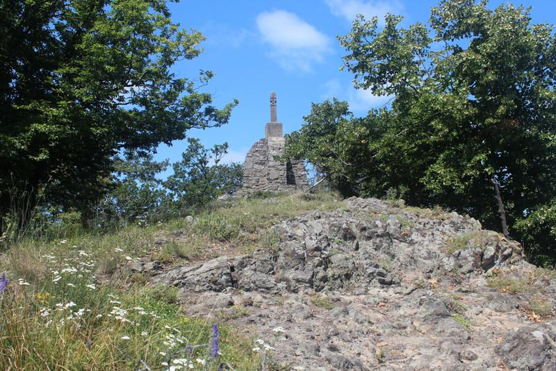 A Sas-kőnél, 2018. július 14. Fotó: kektura.blog.hu