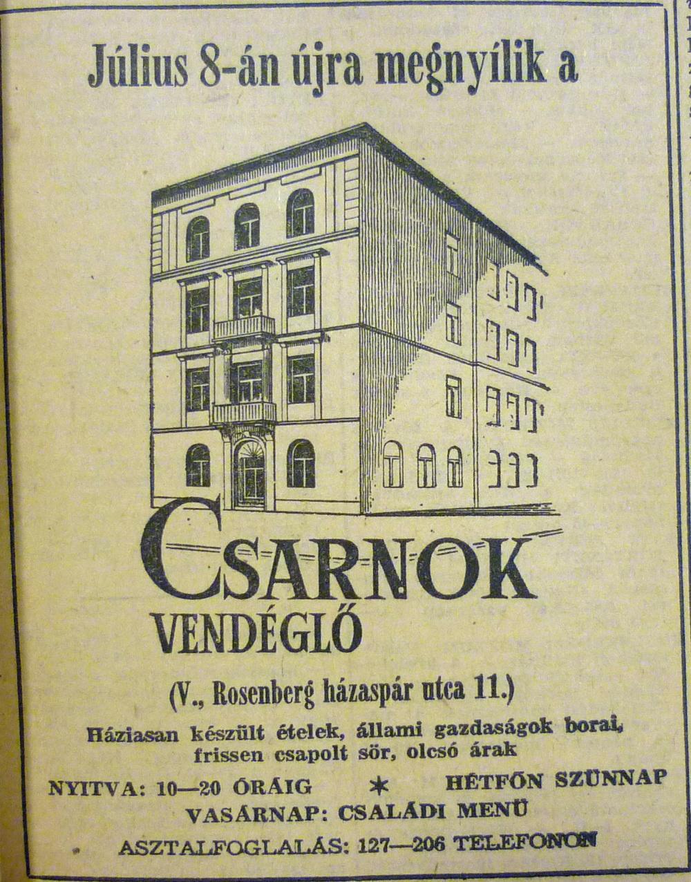 fovarosi.blog.hu: CsarnokVendeglo-19690706-MagyarNemzetHirdetes - indafoto.hu