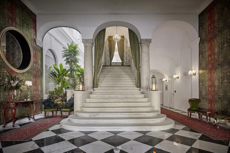 A fő lépcsőház. Fotó: Mystery Hotel Budapest