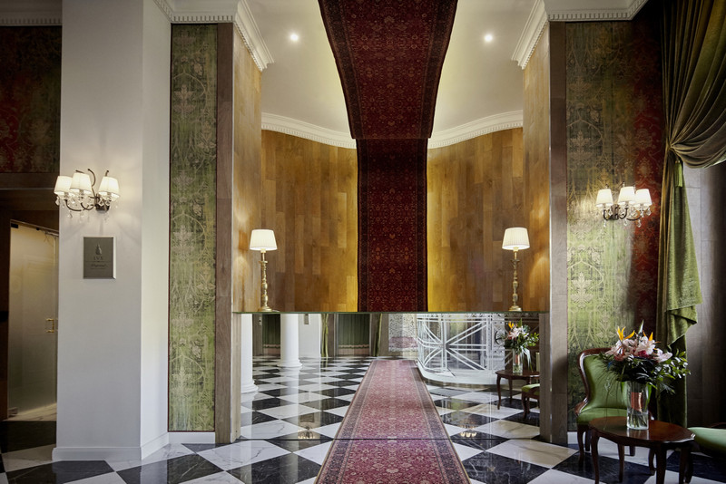 A recepció tere. Fotó: Mystery Hotel Budapest