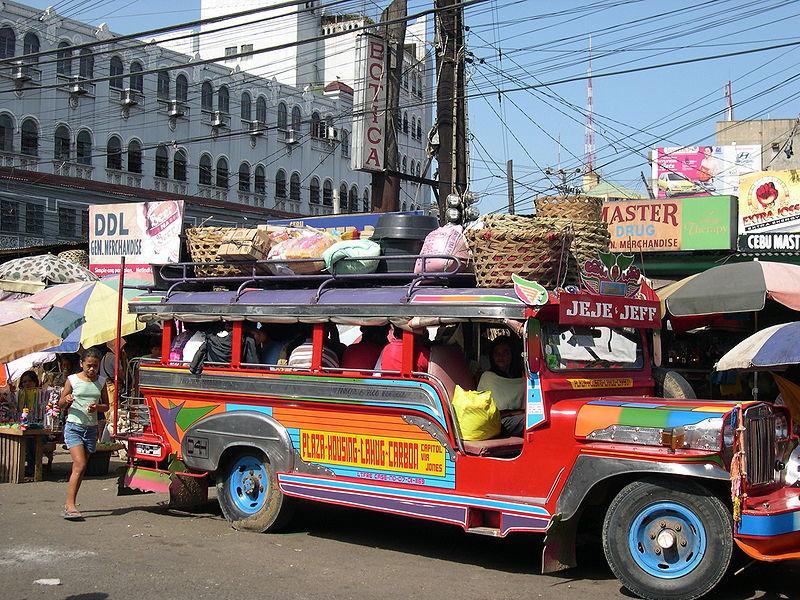 Manila 800px-Jeepney Carbon Market