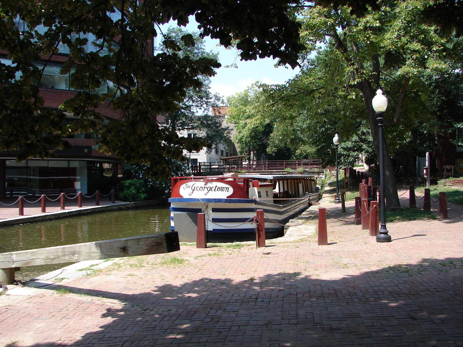 Washington Georgetown boat