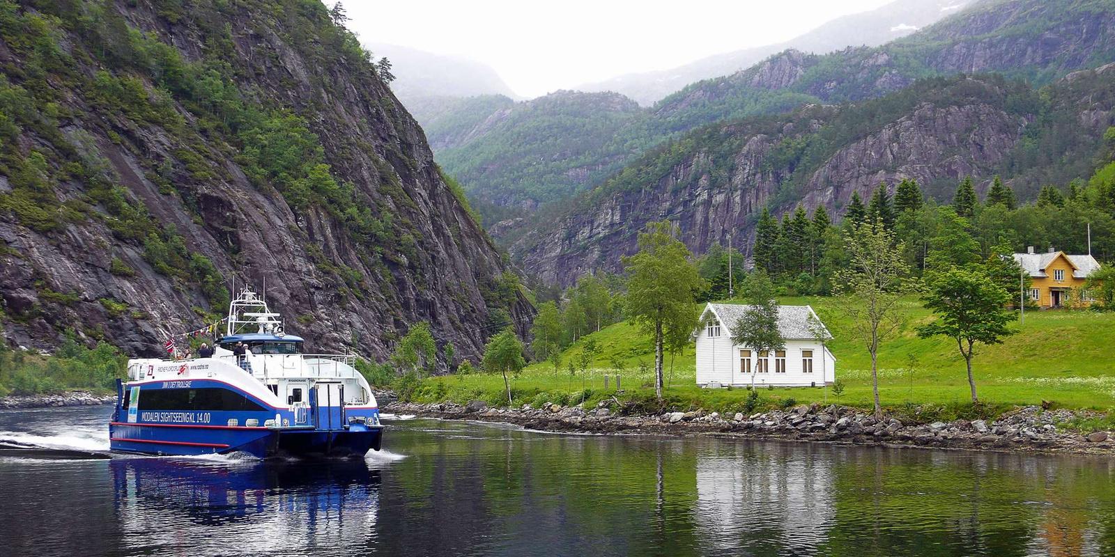 norvág fjord