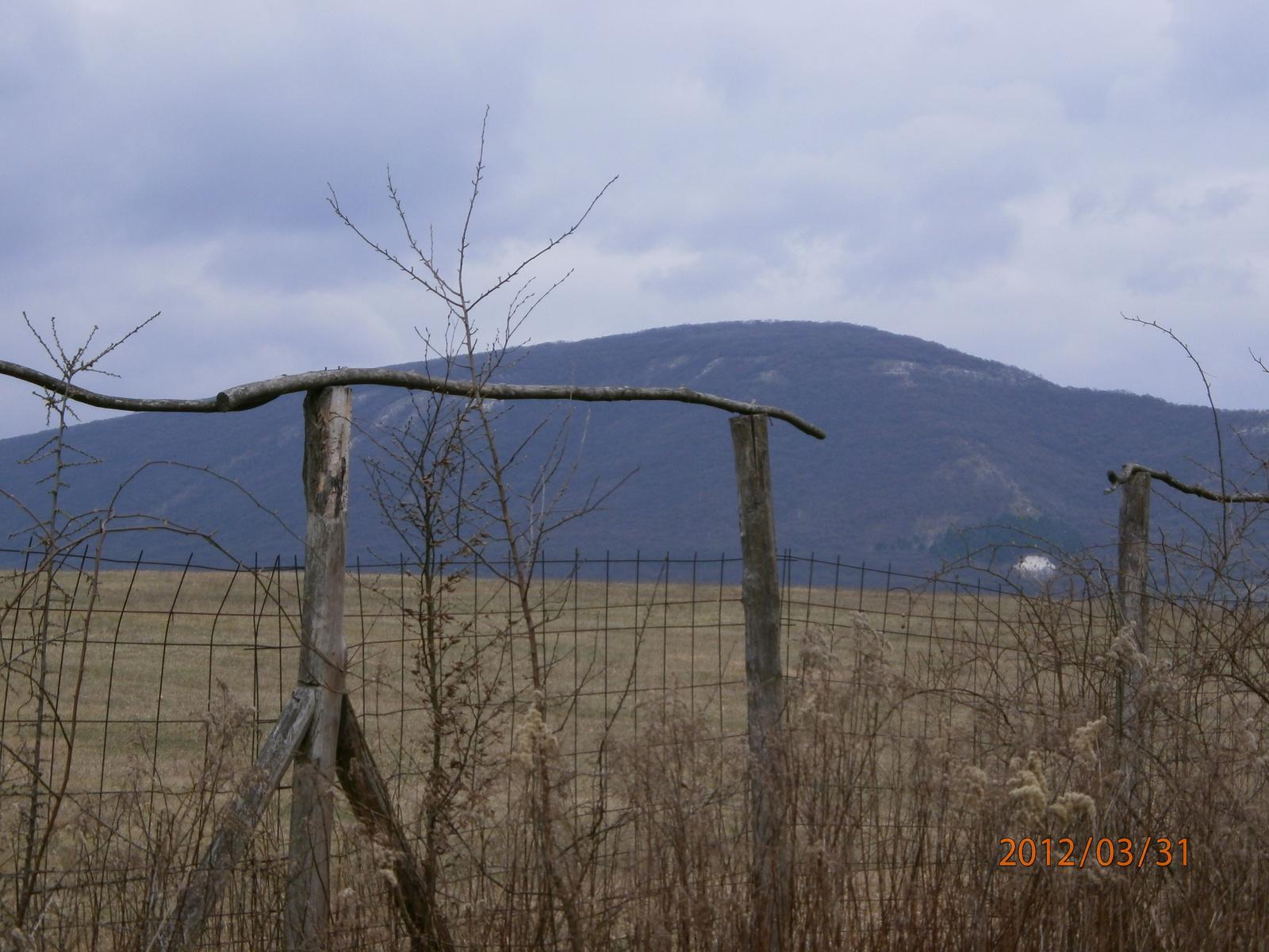 A Szirtes-tető (Steinfelsen) és a Fésű-hegy (Kopasz-hegy). Fotó: Kőrössy Tamás